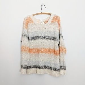 Anthropologie Sweaters - Anthropologie Meadow Rue Kennedy Striped Pullover